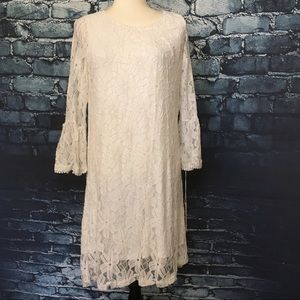 Haani large white dress